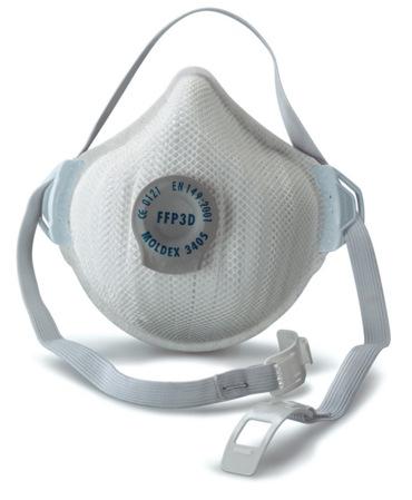 Moldex 3405 FFP3 Dust Mask | The Workwear Centre