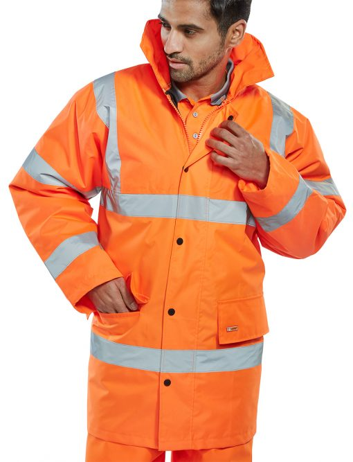 hi vis jacket orange