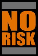 No Risk logo