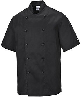 kent chef jacket black