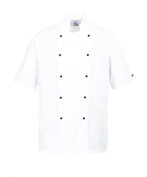 kent chef jacket white
