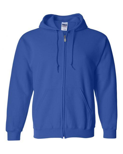 gildan 18600 zip hoodie