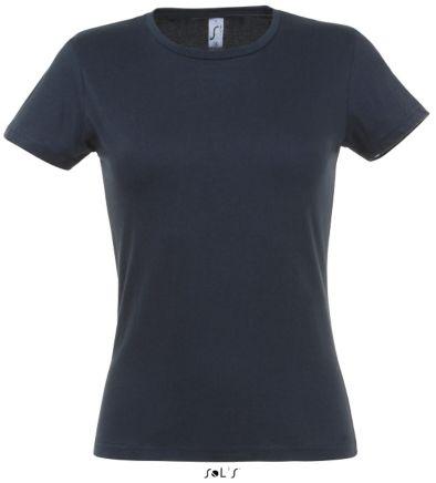 sols miss t shirt navy