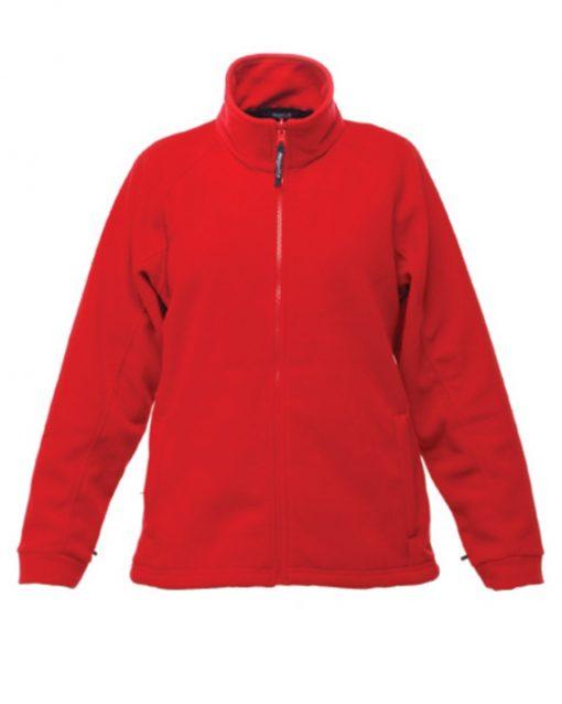 thor fleece ladies red