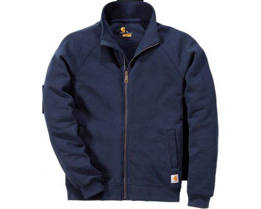 carharrt zip sweatshirt k350 navy