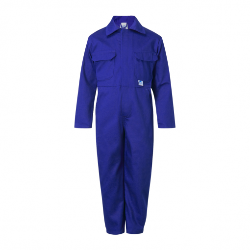 blue castle tearaway junior boilersuit royal blue