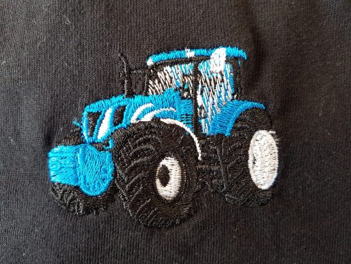 blue tractor 2