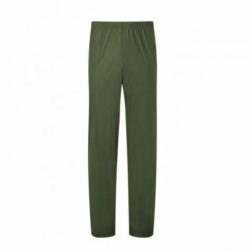 fortress air flex kids waterproof trousers olive