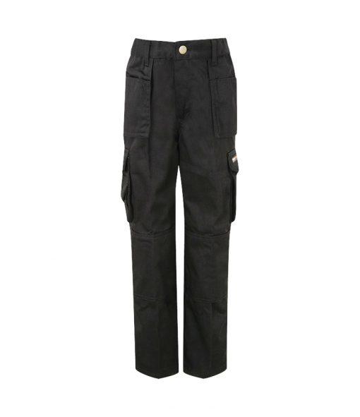 tuffstuff pro work junior trousers 711j black