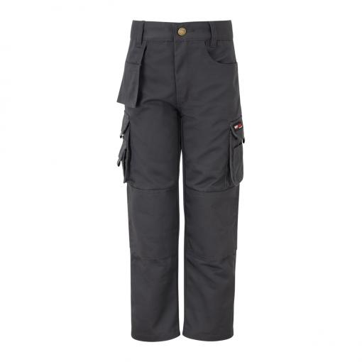 tuffstuff pro work junior trousers 711j grey