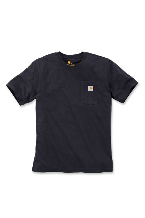 carhartt k87 pocket t shirt black