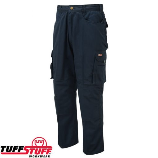 tuffstuff pro work trousers 711 navy